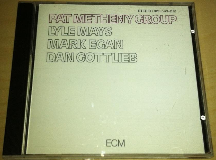 Pat Metheny Group - Pat Metheny Group First Album ECM 1990s Pressing