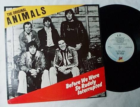 Animals Lp-Before - we were so rudely interrupted-orig 1977 album