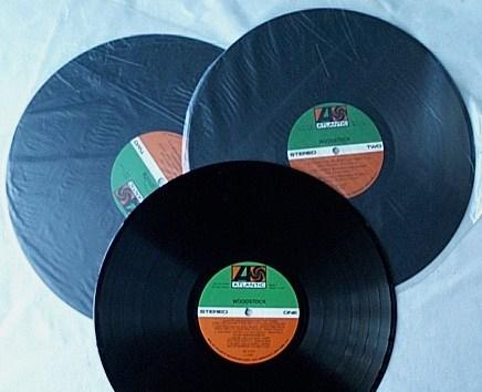 Woodstock 3 Lp Set- - rare orig 1970 german pressing