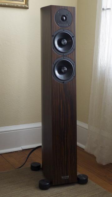Audio Physic Sitara  in upgraded Ebony Floor-standing loudspeakers