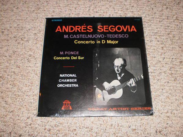 Segovia (Sealed) - Castelnuovo-Tedesco concerto in d major