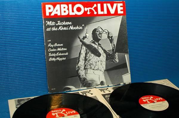 """MILT JACKSON -  - """"At The Kosei Nenkin"""" -  Pablo 1977 Demo"""