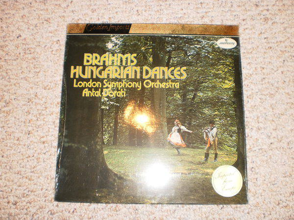 Mercury (Sealed) - SRI 75024 brahms: hungarian dances