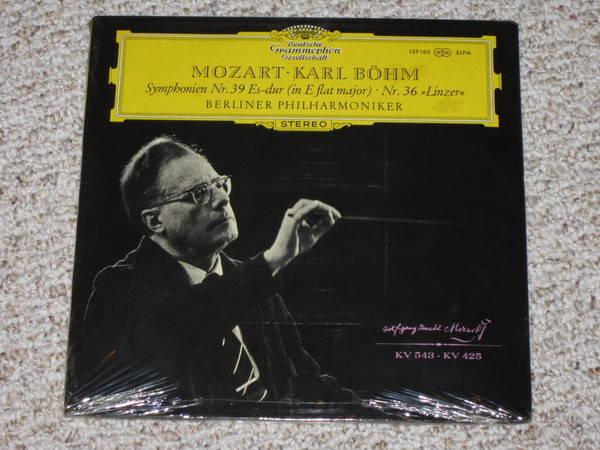 Dgg (Sealed) - Mozart, Karl Bohm six symphony set