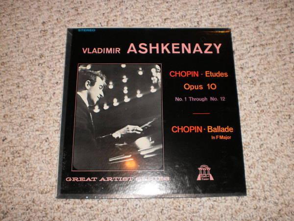 Ashkenazy (sealed) - Chopin etudes, op. 10