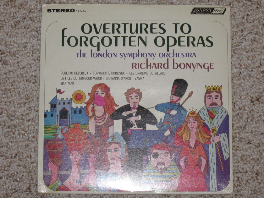 London (Sealed) - CS 6486 Overtures to Forgotten Operas