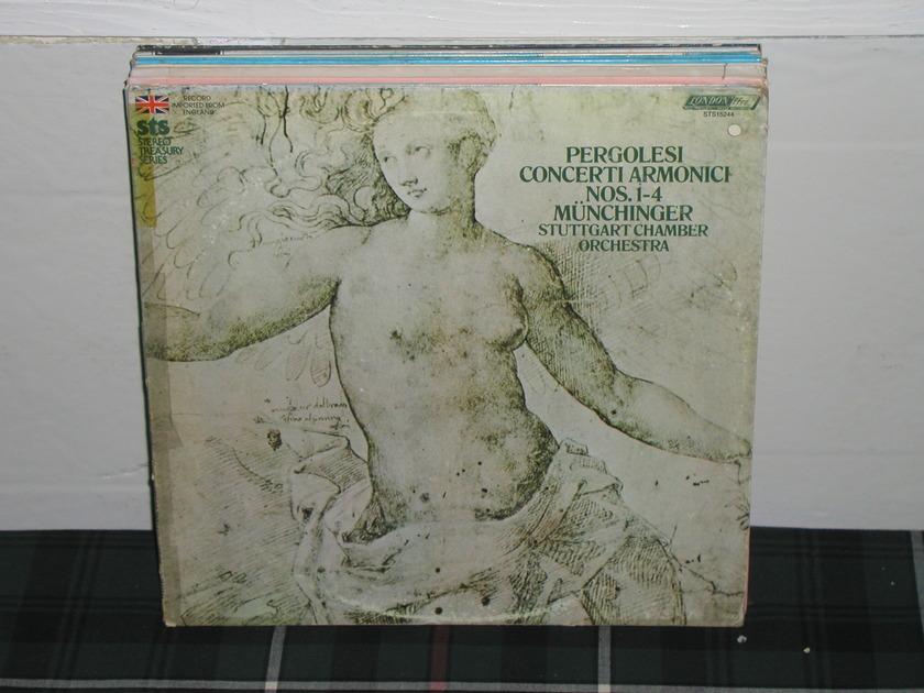 Munchinger/SCO - Pergolesi Concerti  London ffrr sts 15244 (thick)