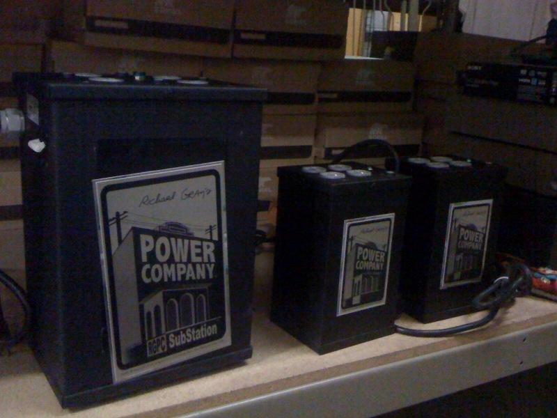 Richard Gray's Power Company Sub Station