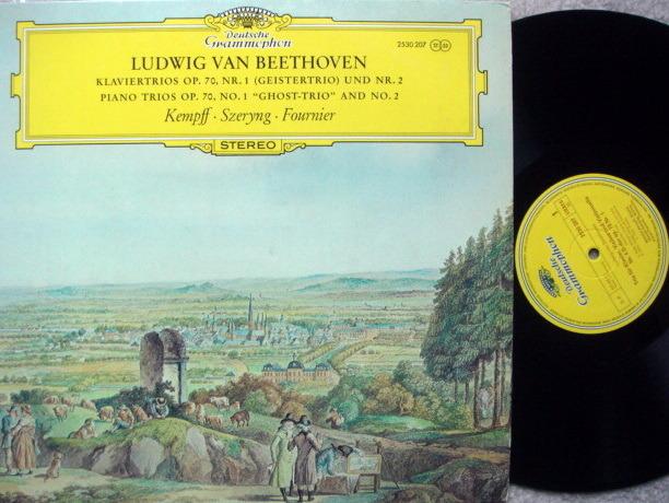 DG / Beethoven Piano Trio No.1 Ghost, - FOURNIER/SZERYNG/KEMPFF, MINT!