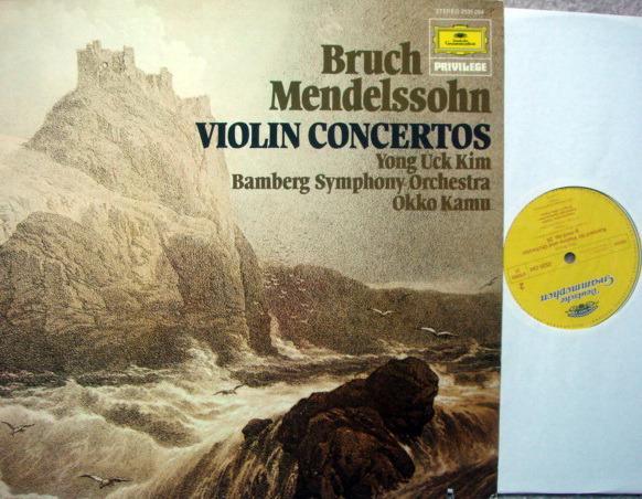 DG / Bruch,Mendelssohn Violin Concertos, - KIM/KAMU/BSO, MINT!