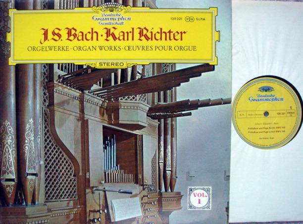 DGG / Bach Organ Works Vol.1, - RICHTER, MINT!
