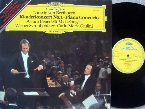 DG / Beethoven Piano Concerto No.1, - MICHELANGELI/GIULINI/VPO, MINT!