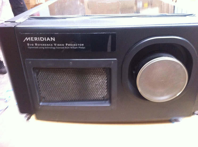 Meridian 810 Reference best projector ever made