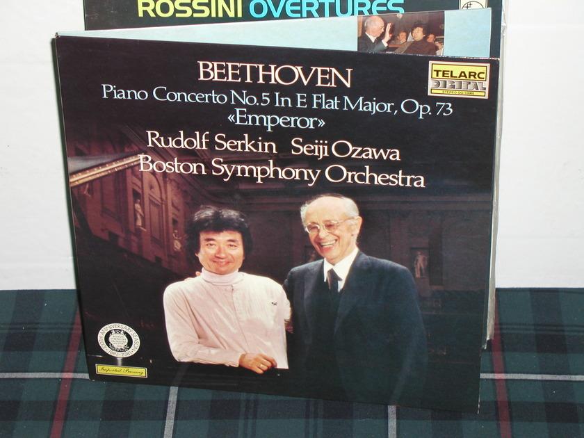 Serkin/Ozawa/BSO - Beethoven Cto No 5 Telarc dg 10065