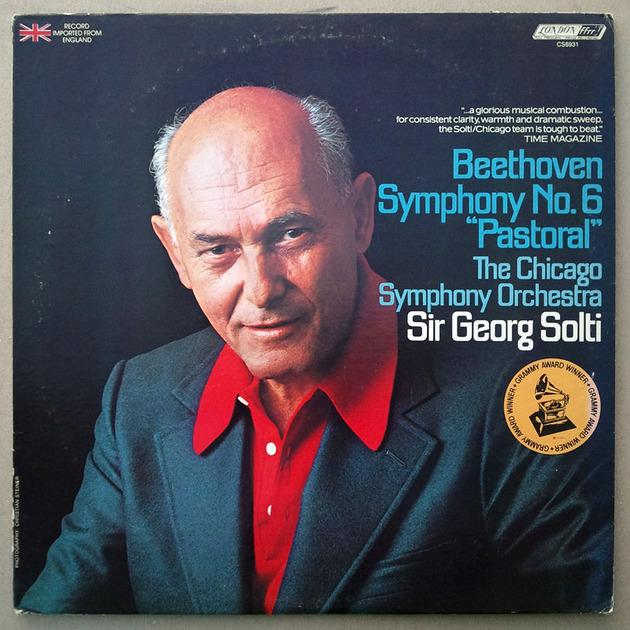 "London ffrr/Solti/Beethoven - Symphony No.6 ""Pastoral"" / EX"