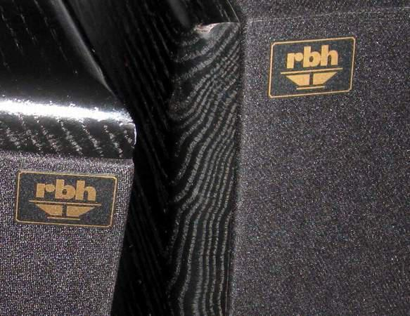 Rbh 750 Series 3 Piec LCR speakers dual kevlar 6.5  woofers and 1