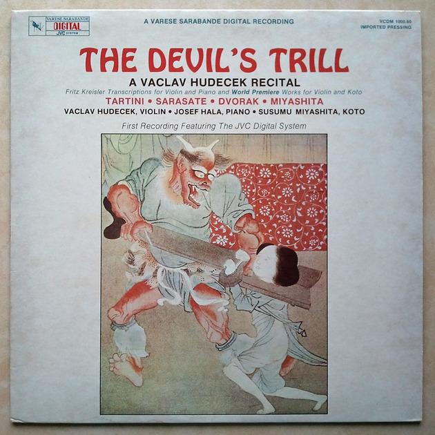 Audiophile JVC Recoding & Pressing / - Vaclav Hudecek Recital / The Devil's Trill