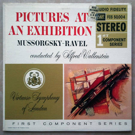Audio Fidelity/Alfred Wallenstein/Mussorgsky-Ravel - Pictures at an exhibition / EX