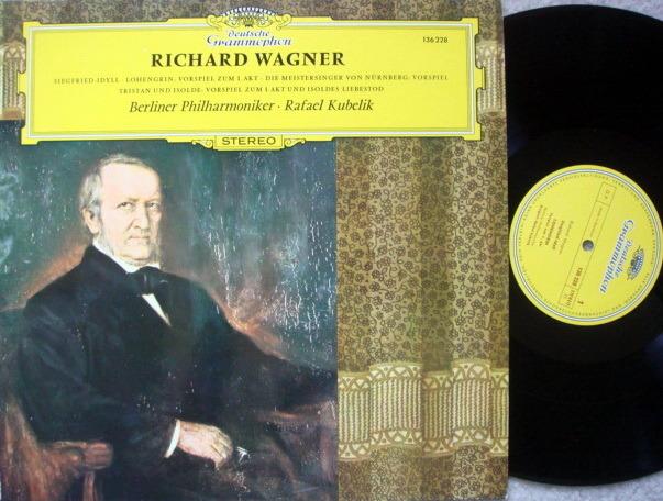 DG / Wagner Preludes, - KUBELIK/BPO, MINT!