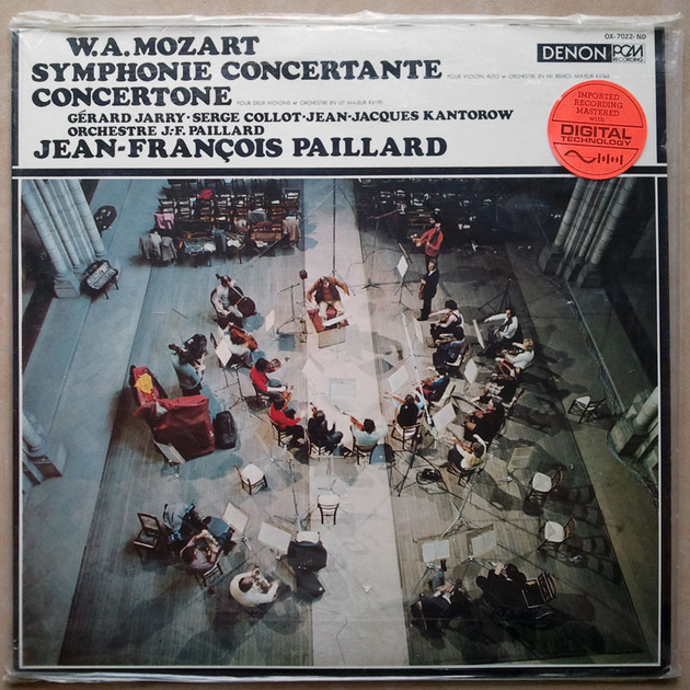 Sealed/DENON/Mozart - Sinfonia Concertante KV.364, Concertone KV.190