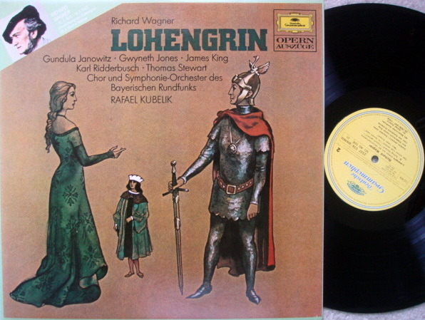 DG / Wagner Lohengrin, - KUBELIK/JONES/KING, MINT!