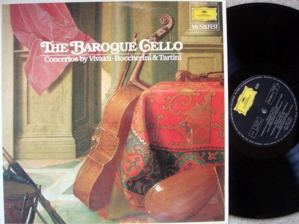 DG / Baroque Cello Concertos, - FOURNIER/MAINARDI/STORCK, MINT!