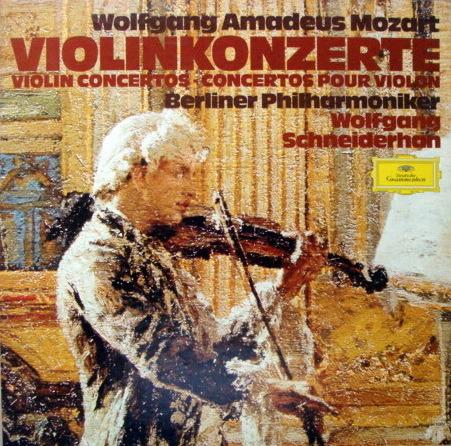 DG / Mozart Complete Violin Conertos, - SCHNEIDERHAN/BPO, MINT, 3LP Box Set!