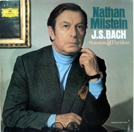 DG / Bach Sonatas & Partitas, - MILSTEIN, MINT, 3LP Box Set!