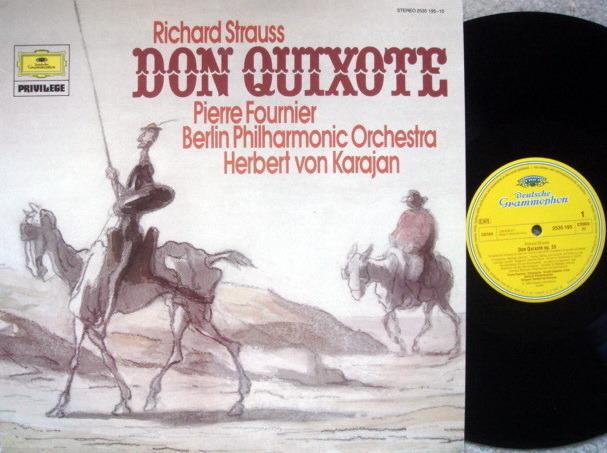 DG / R. Strauss Don Quixote, - FOURNIER/KARAJAN/BPO, MINT!