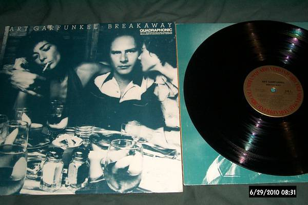 Art Garfunkel - SQ Quadraphonic breakaway lp nm