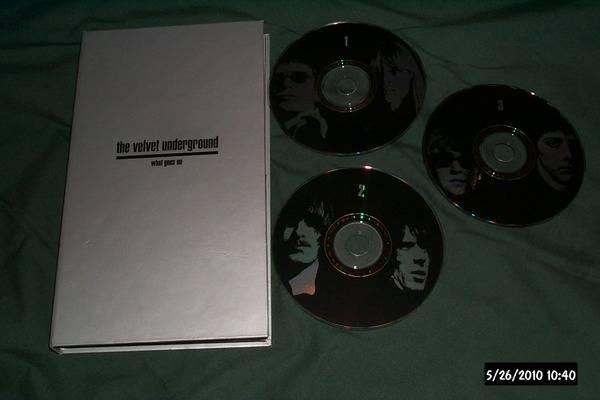Velvet Underground - What Goes On rare 3 cd set