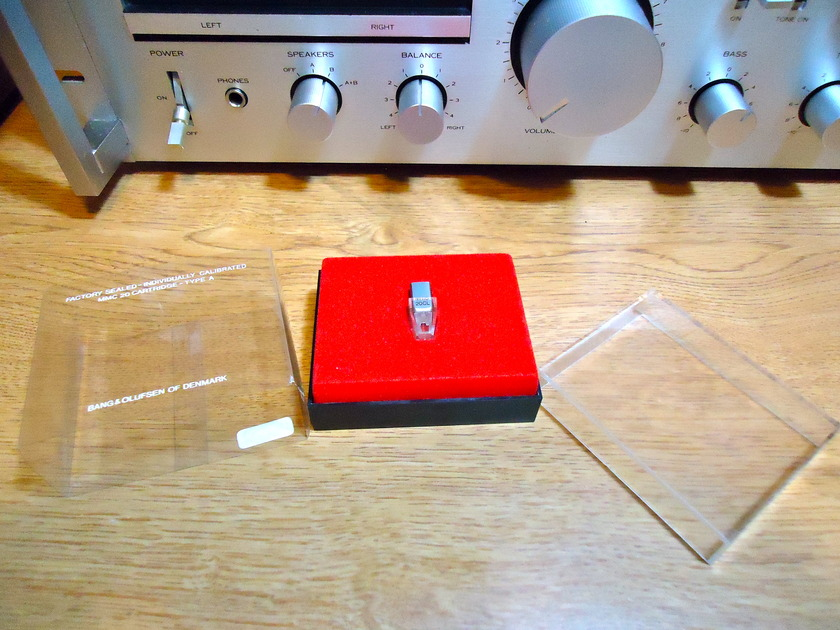 B&O BANG & OLUFSEN MMC20CL CARTRIDGE LIKE BRAND NEW - SAPHIRE CANTILEVER VERY RARE - AUDIOPHILE QUALITY