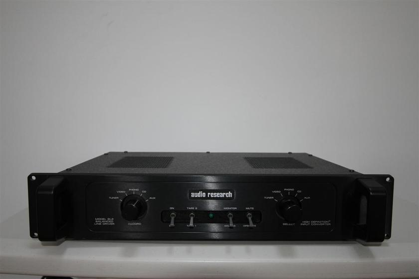 Audio Research BL2 Balanced Line Driver Convert from SE to balanced