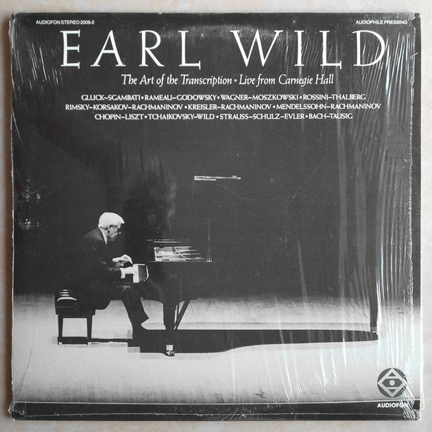 Audiofon/Earl Wild/The - Art of the Transcription - Live from Carnegie Hall /Audiophile/2-LP set/ NM
