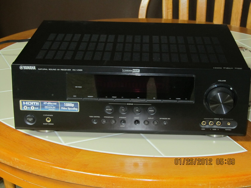 Yamaha RX-V565 Great receiver for a great price.