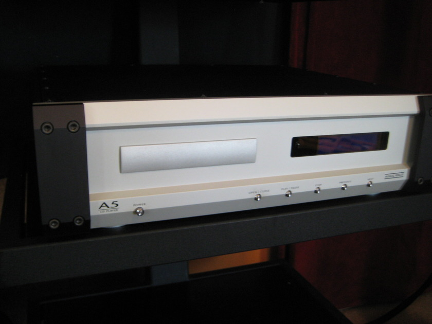 Musical Fidelity A5 CD Player 24/192, Tube Output, Lightly Modified.