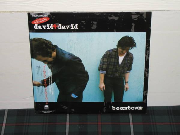 David+David - Welcome To The Boomtown (pics) HQ JPN import lp w/obi