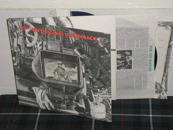 10cc - The Original Soundtrack (pics) Mercury gatefold