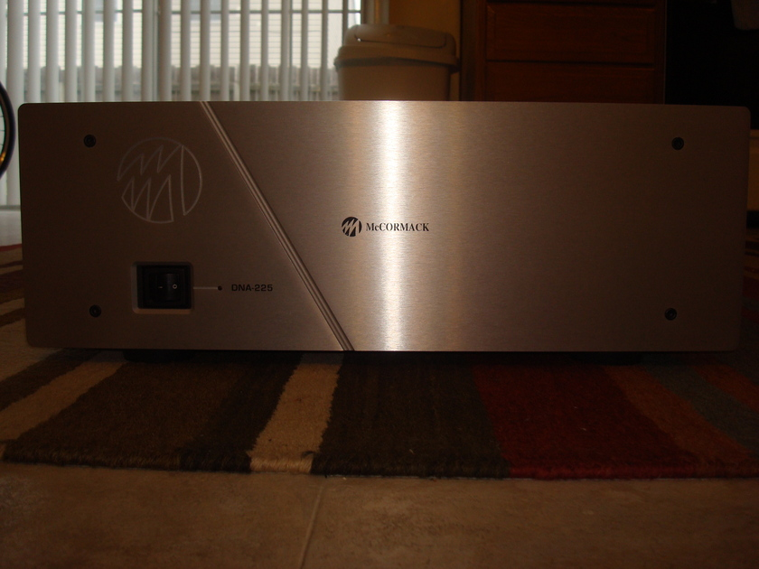 Mccormack DNA-225 Rarely up for sale on AUDIOGON