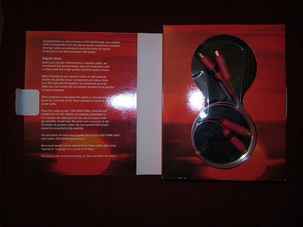Nordost Red Dawn rev ll  1meter 1pair  rca ends