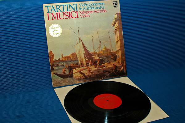 "TARTINI/I Musici/Accardo -  - ""Violin Concerto"" -  Philips 1974 1st pressing"