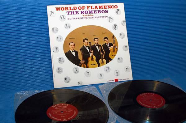 "THE ROMEROS -  - ""World of Flamenco"" - Mercury Living Presence 1960s 1st pressing Mono"