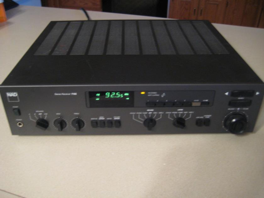 NAD 7155 AM/FM 55w/ch high current receiver