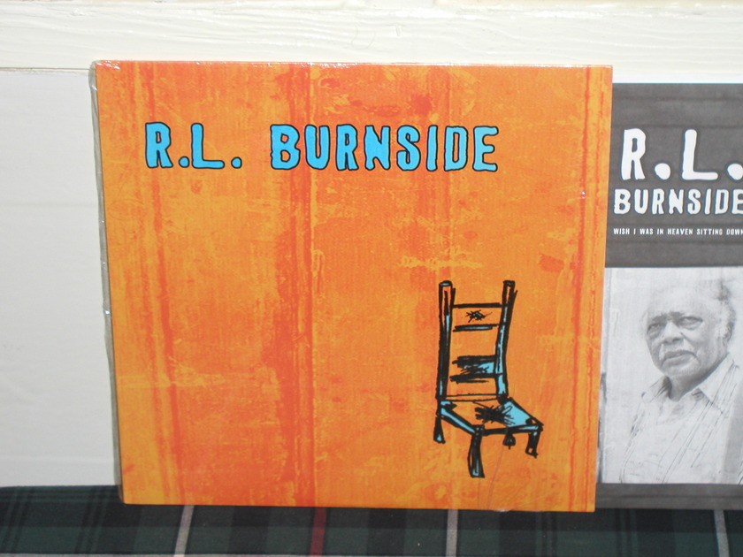 "R.L. Burnside - ""WISH I WAS IN HEAVEN SITTING DOWN"" Fat Possum 1st Press"