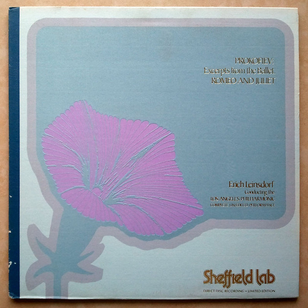 Sheffield Lab/Leinsdorf/Prokofiev - Romeo & Juliet Audiophile / NM
