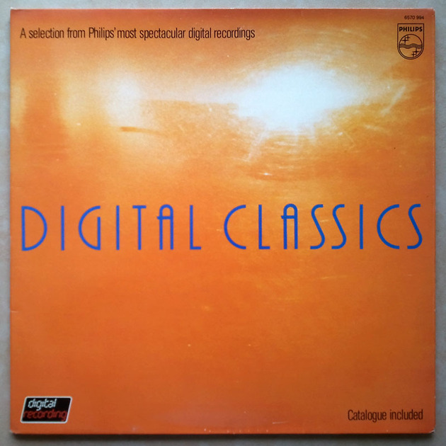 Philips Digital Classic Sampler - - A selection from Philips' most spectacular digital recordings / NM