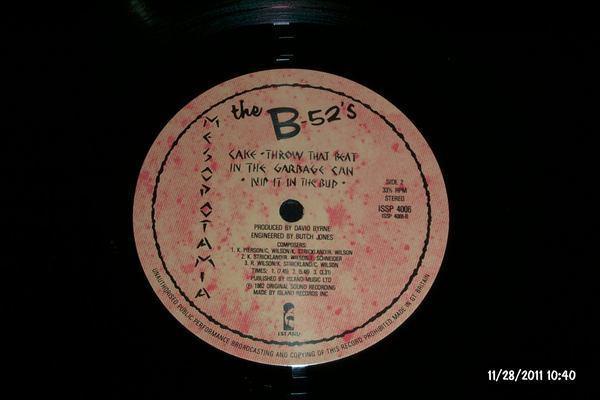 The b-52's - Mesopotamia island uk with alternate mix