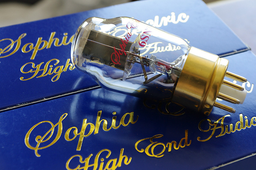 Sophia Electric Grade A 6SN7 light use!
