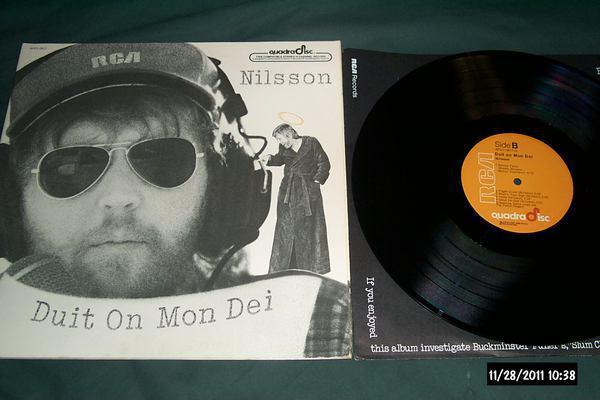 Harry Nilsson - Duit On Mon Dei cd-4 quadradisc lp nm