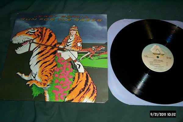 Jerry garcia - Run For The Roses lp nm